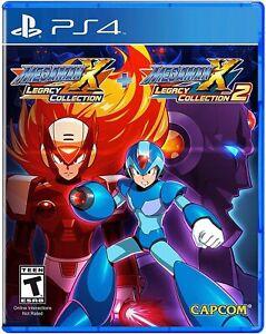 Megaman Mega man X Legacy Collection 1 + 2 PS4 Playstation 4 Brand New