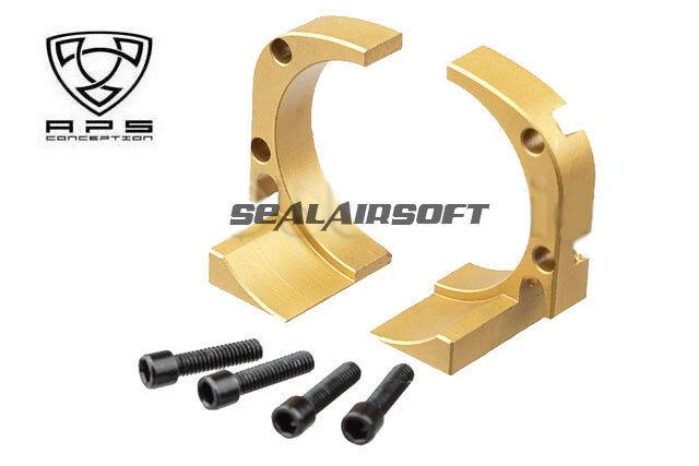 A.P.S. CNC Titan Nitride Magazine Cradle For CAM 870 Airsoft Shotgun (Stahl)