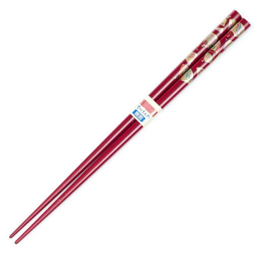 Wine Red Fan Chopsticks