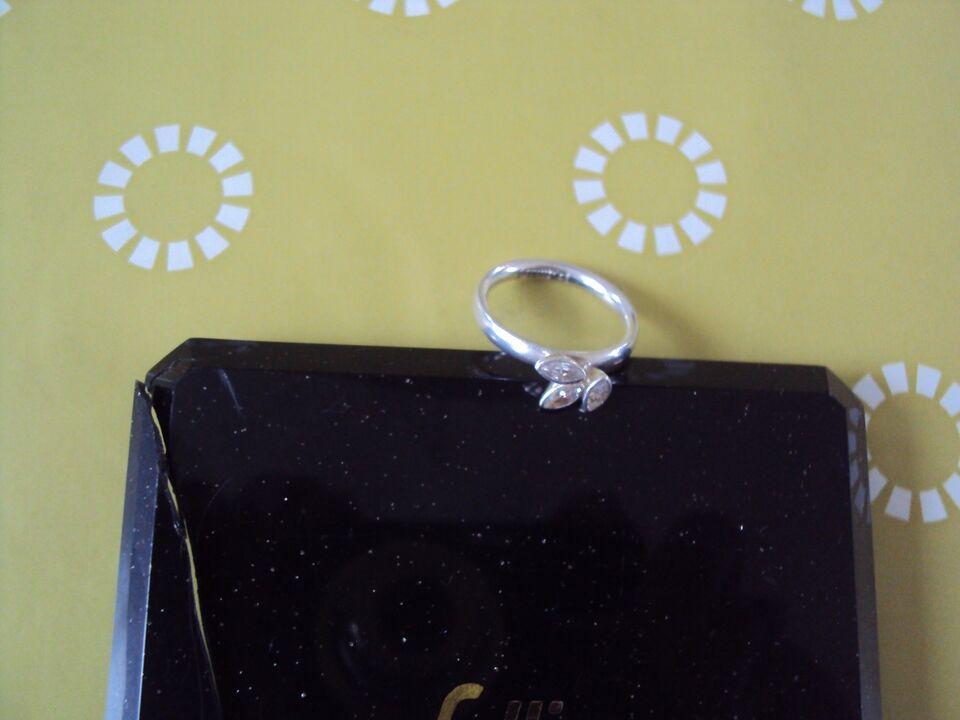 Ring, sølv, Spinning