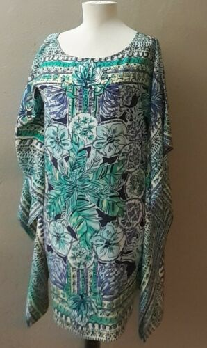 Lilly Pulitzer Lindamarie Caftan Escape Artist Re