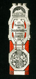Germany-Stamps-1910-rare-cycling-label