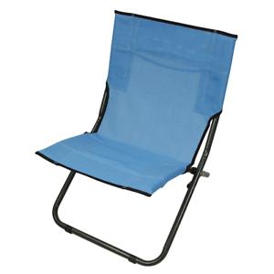 Beach chair BCB bluee Folding chair Camping chair comfortable light 120kg