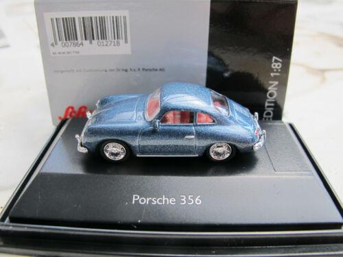 26377 de 2018 Schuco 1:87 Porsche 356 en azul Art