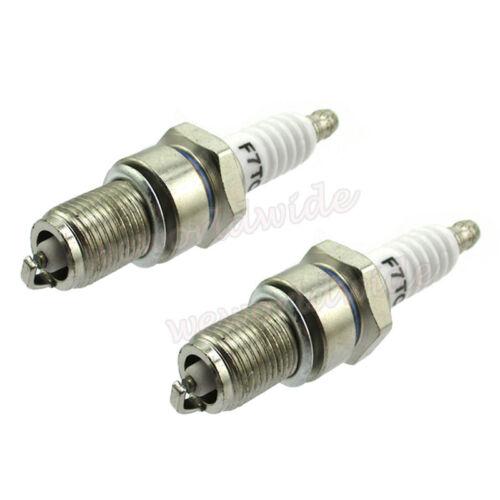 2Pcs F7TC Spark Plug Fits Honda GX120 GX160 GX200 GX240 GX270 GX340 GX390