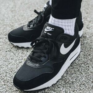 Details about Nike Air Max 1 Black White Uk Size 9 Eur 44 AH8145 014