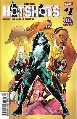 Domino Hotshots #3 MARVEL Comics 2019 1st Print Cover A DEADPOOL
