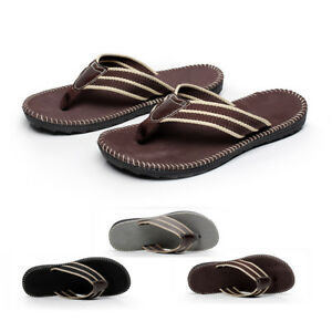 a3da6fa02a8504 Men s Summer Beach Pool Flip Flops Beach Slippers Home Casual ...