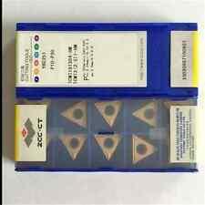 1-HM lathe turning insert 1.5 1.8 10PCS  ZCC.CT TCMT090204-HM YBC251 TCMT