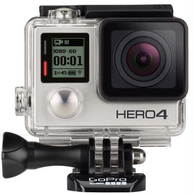 GoPro Hero4 12MP Silver Action Camera
