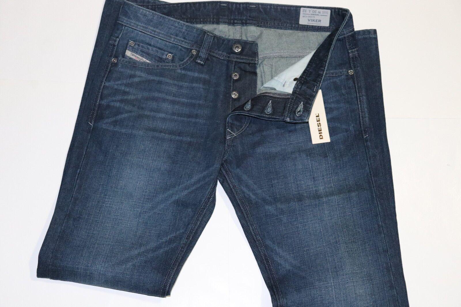 NWT  Diesel Mens VIKER Regular Straight Jeans size 30 x 32  Wash ORZ79