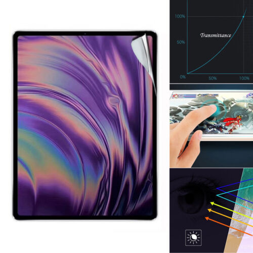 2X Ultra HD Clear Tempered Glass Screen Protector For iPad Pro 2018 11 12.9 inch