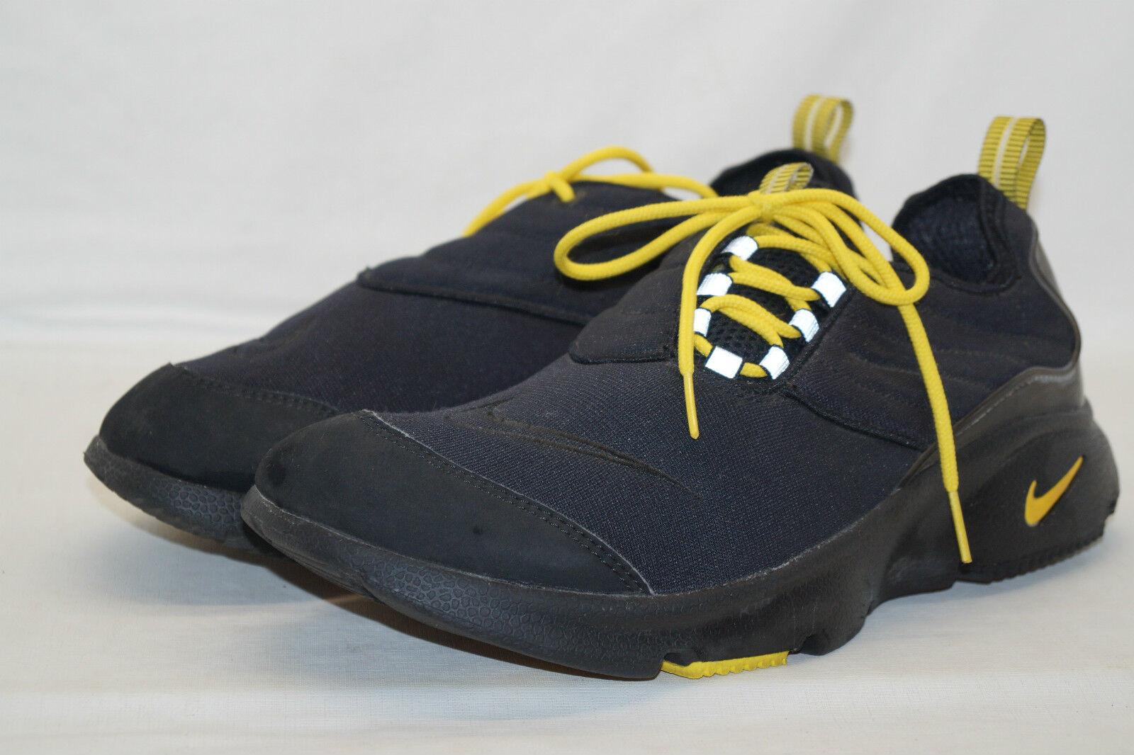 Nike AIR running Footscape schuhe  Gr.43 UK 8,5 von 2001 schwarz Gelb 104314-071 Schöne kunst