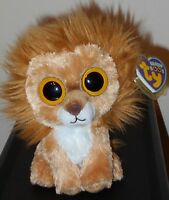 Ty Beanie Boos King The 6 Lion Mint With Mint Tags Retired