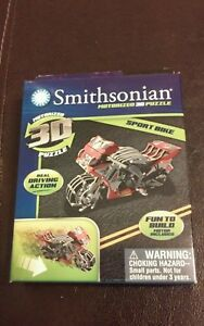 New 2014 Smithsonian Motorized 3D Puzzle Sport Bike Real Driving Action W Motor - Taylorsville, North Carolina, United States - New 2014 Smithsonian Motorized 3D Puzzle Sport Bike Real Driving Action W Motor - Taylorsville, North Carolina, United States