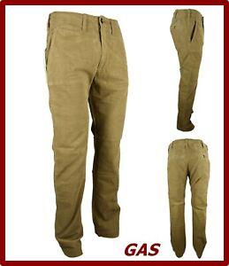 Gas-Pantaloni-velluto-uomo-elasticizzati-chino-pantalone-gamba-dritta-invernale