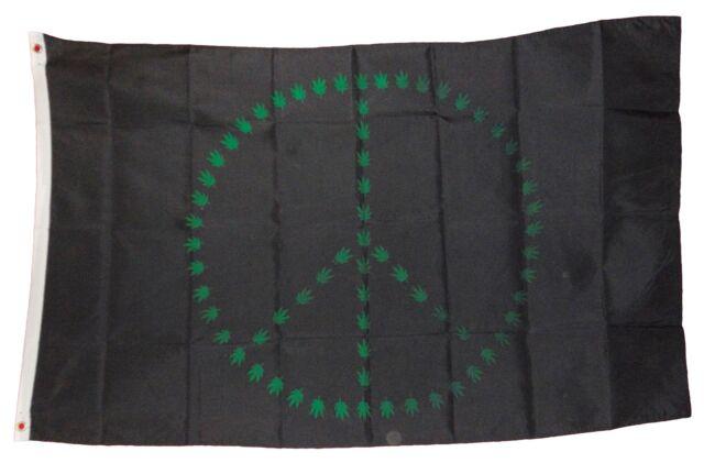 AMERICAN POT PEACE 3X5 FLAG banner #415  flags  SIGN 3 x 5 usa marijuana new