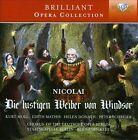 Otto Nicolai: Die lustigen Wieber von Windsor (CD, Oct-2013, Brilliant Classics)