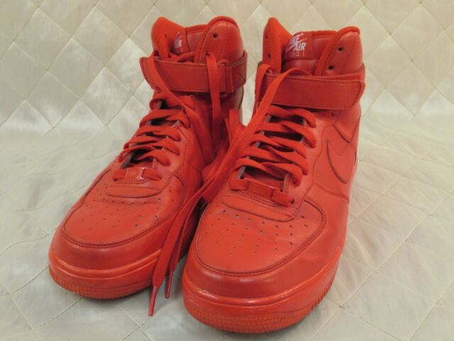 Nike Air Force 1 High ID Red October 779426 993 Size 10.5 Mens Vietnam Auth