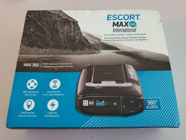 ESCORT Max 360 Radar Detector