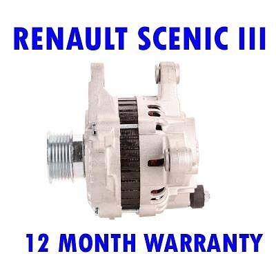 Renault scenic mk 3 III 1.5 2009 2010 2011 2012 2013 2014 2015 alternator