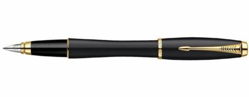 PARKER Urban Fountain Pen MATTE BLACK /& GOLD BLOWOUT PRICE New