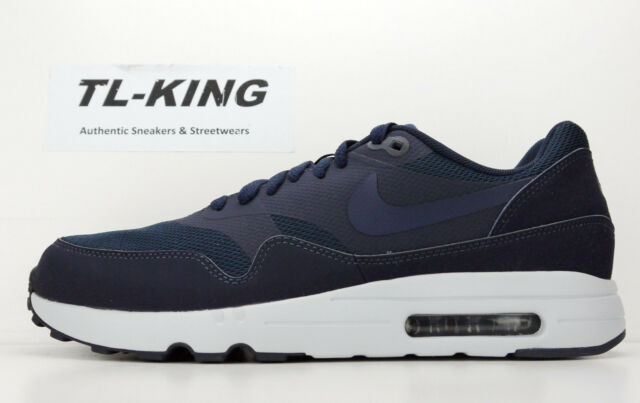 c837ab3e493b7 Nike Air Max 1 Ultra 2.0 Essential Obsidian Navy Blue 875679-400 Msrp  120  An