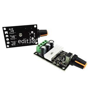 6v 12v 24v 3a 80w Pwm Dc Motor Speed Controller Variable