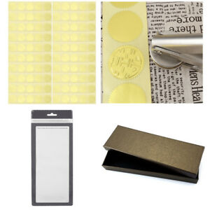 Details about Gold Embossed Foil Stickers Certificate Envelope Metallic  Blank Seals 45mm Lot
