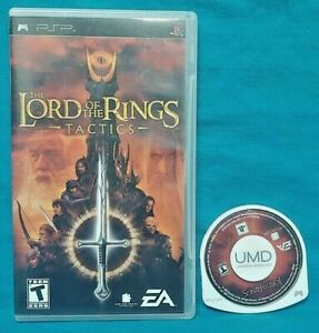 The-Lord-of-the-Rings-Tactics-Sony-PSP-Game-Playstation-Portable-Tested