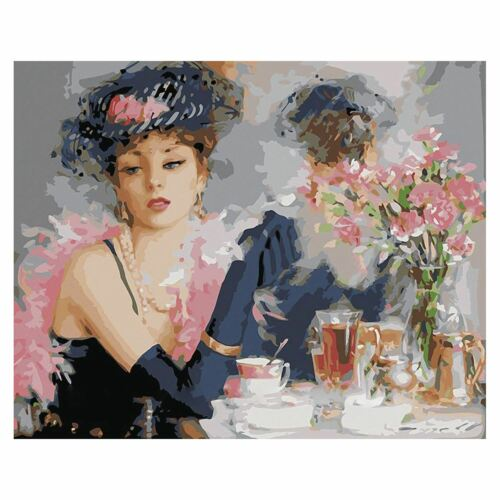 DIY Oil Painting Paint by Numbers Kits for Adults Kids Beginner Bride 16 M2C2