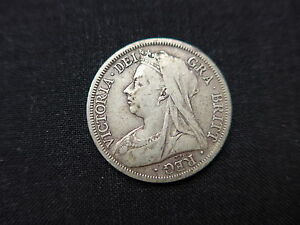 1900  Queen Victoria  Halfcrown - <span itemprop='availableAtOrFrom'>Harrogate, West Yorkshire, United Kingdom</span> - 1900  Queen Victoria  Halfcrown - Harrogate, West Yorkshire, United Kingdom
