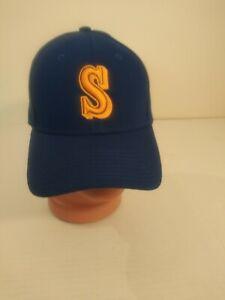 Seattle-Mariners-New-Era-59Fifty-Hook-And-Loop-Blue-Baseball-MLB-Hat