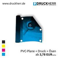 200x100cm Werbebanner Werbeplane PVC  Plane Banner, inkl. Druck & Ösen