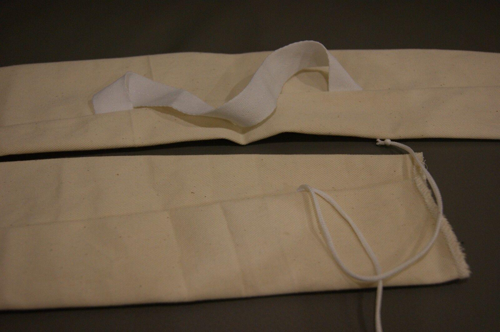 Sac traditionnel longbow, longbow, longbow, blanc avec poignée et fin cravate 9a4134