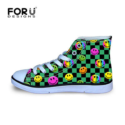 KIDS GIRLS CHILDREN HIGHT TOP SHOES WITH LACES