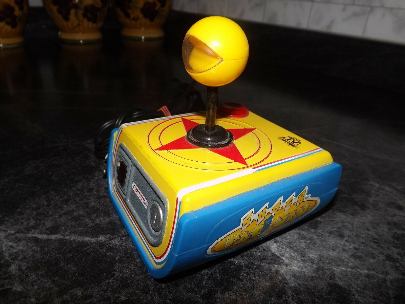 NAMCO SUPER PAC-MAN PLUG AND PLAY TV SYSTEM-Works