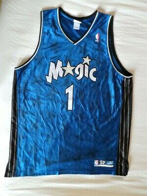 cheap for discount cfe45 03290 Reebok Authentic Orlando Magic Tracy McGrady Jersey s 52 2XL XXL TMac  vintage OG | eBay