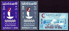 Irak Iraq 1963 ** Mi.370/72 Rotes Kreuz Red Cross