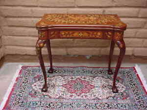 ANTIQUE-DUTCH-MARQUETRY-GAME-TABLE