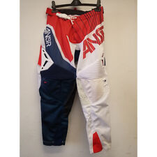 Size 30 Answer Racing A17.5 Elite Limited Edition Halo Mens Off-Road Motorcycle Pants Red//White