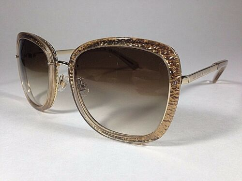 0ae14efb73591 3 of 12 Kate Spade Women s Scottie Butterfly Sunglasses Gold Glitter Brown  Gradient New