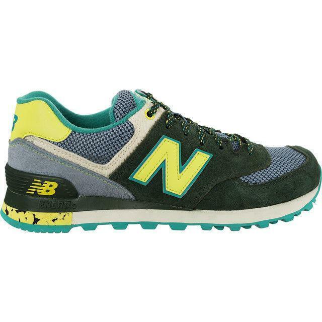 9cb72c951bb Zapatillas urbanas - New balance verde piel Alfico Wl574 4186190 37 ...