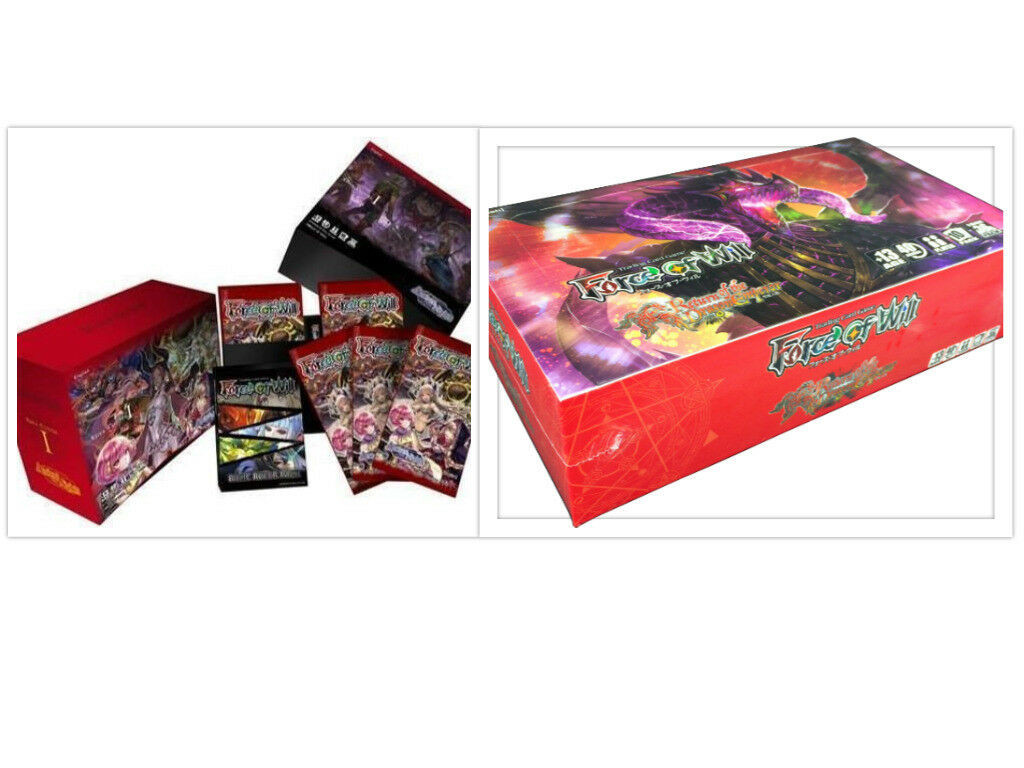 Force of Will Ancient Nights + Dragon Emperor Booster Box Bundle FOW TCG