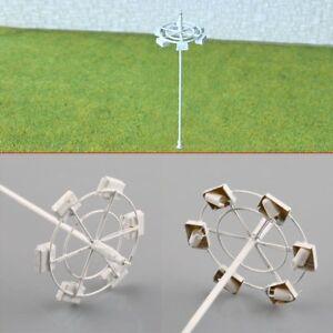 5PCs-Model-Lamp-Plaza-Lamppost-Street-Light-3V-Resistor-For-12V-OO-HO-Scale