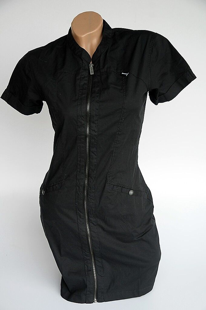 Bench Damen  Kleid APPLE PIE  schwarz  XS  Neu