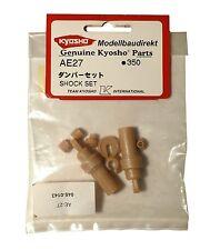 Stossdämpfer-Plastikteile Kyosho Pure Ten Alpha EP und GP AE-27 AE 27 NEU & OVP