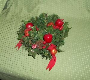 Christmas-Wreath-Candle-Ring-Holder