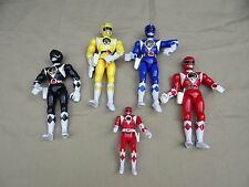 "Vintage1993 Bandai Power Rangers 8"" and 5"" Figure Lot"