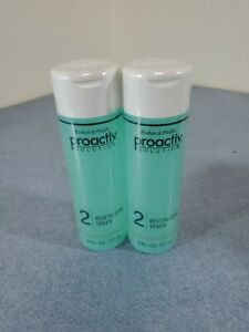Lot 2 Proactiv Tone Step 2 Revitalizing Toner 6 Fl Oz Proactive Acne Treatment Ebay